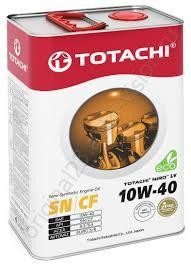 Масло моторное TOTACHI LV Semi-Synthetic SN/CF 10W-40 4л 4589904922039